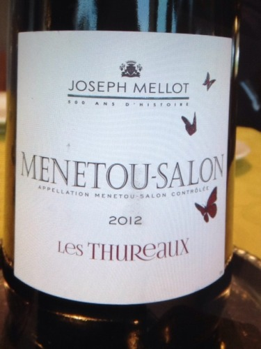 Joseph mellot les thureaux menetou salon blanc 2012 wine for Menetou salon 2012