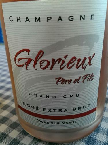 Glorieux Père & Fils Champagne Grand Cru Rosé Extra Brut N.V. ...