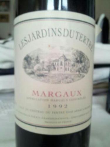 Ch teau du tertre les jardins du tertre margaux wine info for Grand jardin wine