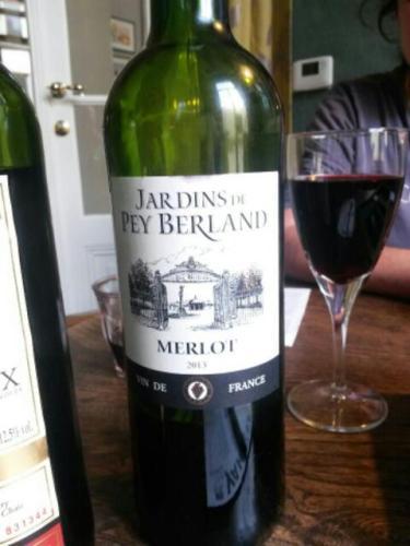 Nathalie haussmann jardins de pey berland merlot wine info for Jardin du nil wine price