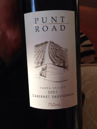 punt road cabernet sauvignon 2001 wine info. Black Bedroom Furniture Sets. Home Design Ideas