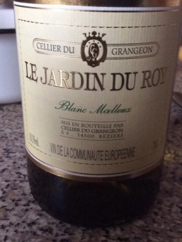 Grangeon le jardin du roy blanc moelleux wine info for Jardin du nil wine price