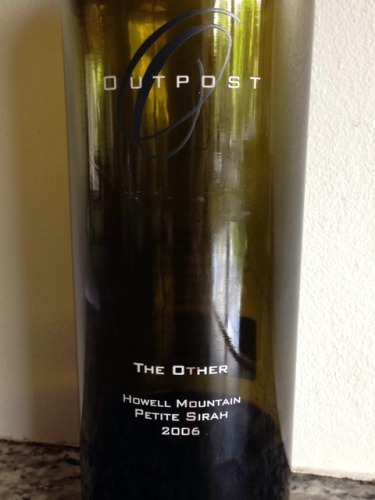 Outpost howell mountain petite sirah #8