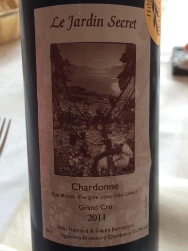 Gianni bernasconi le jardin secret chardonne 2016 wine info for Le jardin high wine
