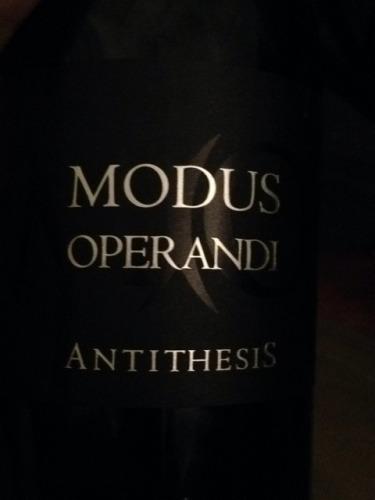 Modus operandi antithesis