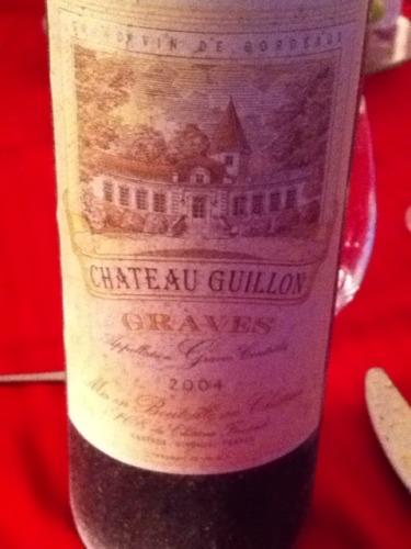 Ch teau ferrande ch teau guillon graves 2004 wine info for Chateau ferrande