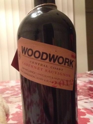 Woodwork 2012 cabernet wine