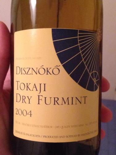 Diszn 243 K 243 Tokaji Dry Furmint 2004 Wine Info