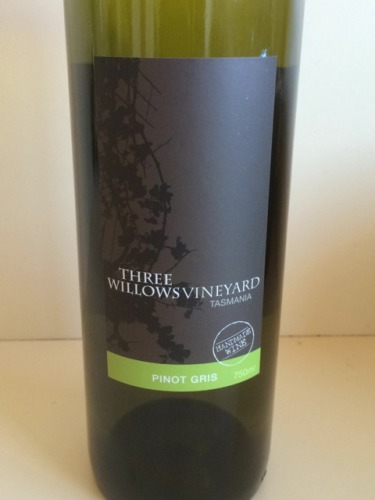Three willows tasmania pinot gris 2009 wine info for Fish eye pinot grigio