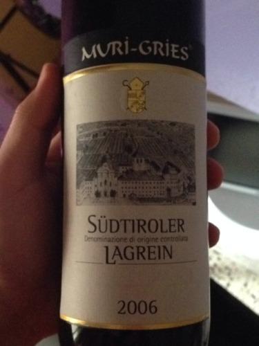 Muri Gries Lagrein S 252 Dtirol 2006 Wine Info