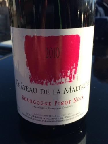 Ch teau de la maltroye bourgogne pinot noir 2005 wine info for La fenetre a cote pinot noir 2012