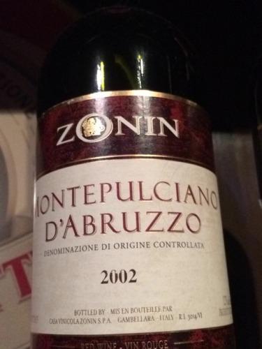 zonin montepulciano dabruzzo wine - photo#8