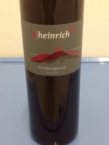 Alexander heinrich lemberger trocken 2013 wine info for Alexander heinrich