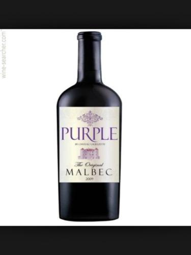 Ch teau lagrezette purple the original malbec 2009 wine info for Purple wine bottles for sale