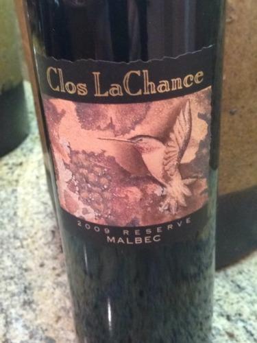 clos lachance reserve malbec 2007 wine info