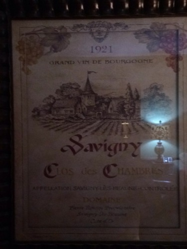Clos des chambres savigny wine info for Chambre wine