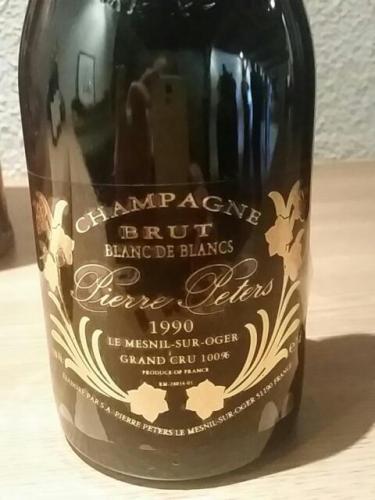 Pierre peters champagne le mesnil sur oger grand cru blanc de blancs brut 1990 wine info for Salon blanc de blancs le mesnil sur oger