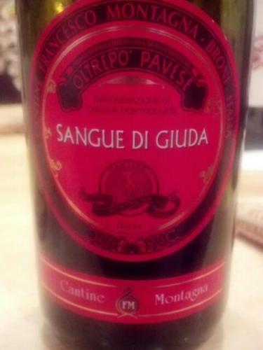 Montagna oltrepo pavese sangue di giuda 2011 wine info for Cabine vicino montagna di sangue
