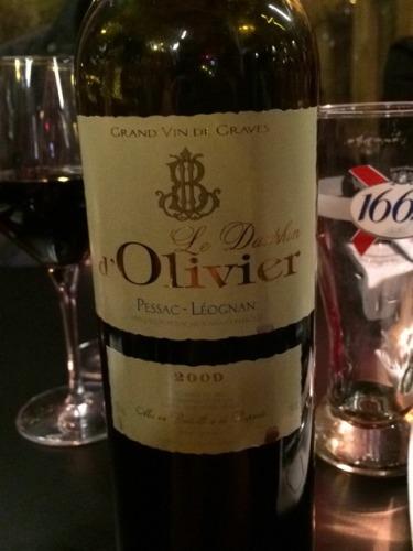 Ch teau olivier le dauphin d 39 olivier pessac l ognan 2009 for Chateau olivier