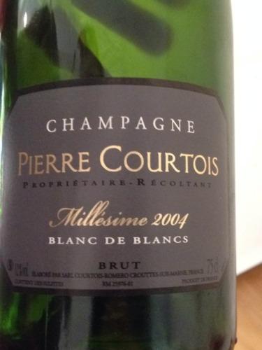Pierre courtois champagne millesime blanc de blancs brut 2004 wine info - Pierre courtois de vicose ...