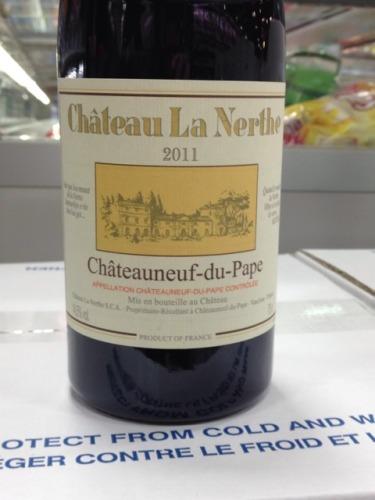 Ch teau la nerthe ch teauneuf du pape blanc 2011 wine info for Chateau la nerthe