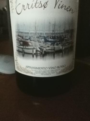 Erritso Vinen Appassimento Vino Rosso 2013 | Wine Info