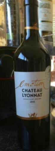Ch teau lyonnat emotion lussac st milion 2013 wine info for Chateau lyonnat