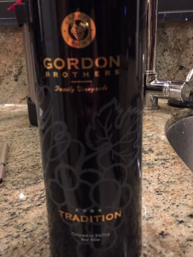 gordon brothers tradition 2013 wine info. Black Bedroom Furniture Sets. Home Design Ideas