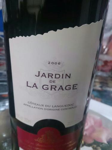 Jardin de la grage coteaux du languedoc 2008 wine info for Jardin du nil wine price