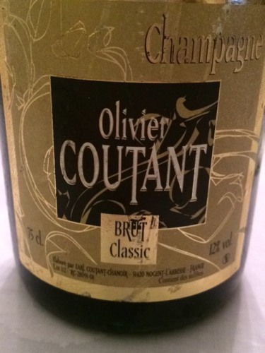 Olivier Champagne Coutant Brut Classic 2011  Wine Info