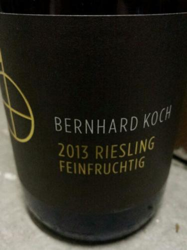 Bernhard koch feinfruchtig riesling wine info for Koch 3 winde