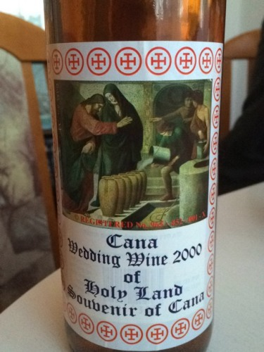 Terms Of Use >> Château Cana Wedding Wine Of Holy Land Souvenir Of Cana 2000 | Wine Info