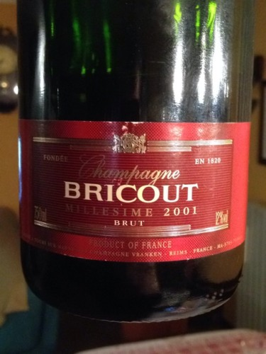 Bricout koch champagne reserve brut 2001 wine info for Koch 3 winde