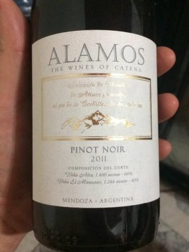 La fenetre los alamos pinot noir 2011 wine info for La fenetre chardonnay