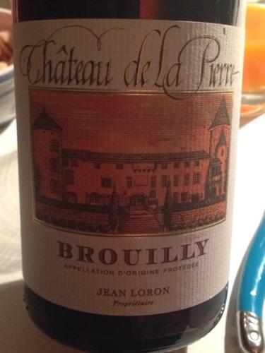 Ch teau de la pierre ch teau de brouilly wine info for Brouilly chateau de la chaise