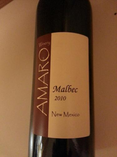 Amaro New Mexico Malbec 2015 Wine Info