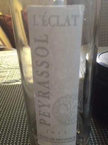 La commanderie de peyrassol chateau peyrassol 2011 wine info - La commanderie de peyrassol ...