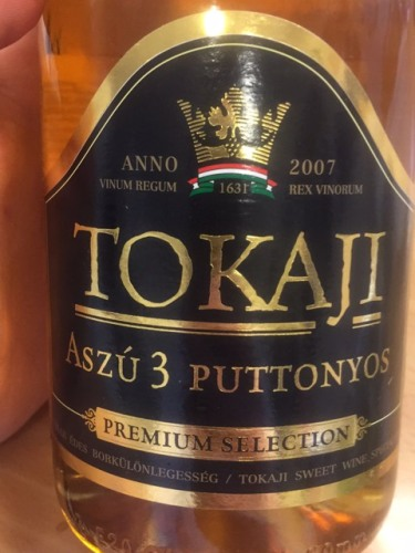 Billedresultat for tokaji aszu 3 puttonyos 2007