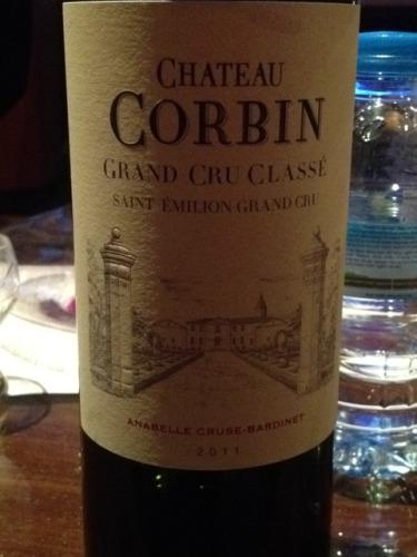 corbin grand cru classe saint emilion 2011 wine info. Black Bedroom Furniture Sets. Home Design Ideas