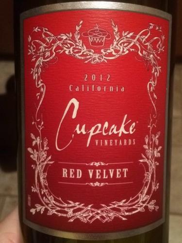 Cake Red Velvet Wine : Cupcake Vineyards Red Velvet 1935 Wine Info