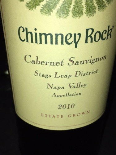 Chimney Rock Cabernet Sauvignon 2010 Wine Info