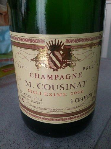 champagne m cousinat cramant