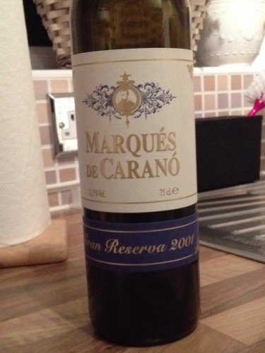 marques de carano gran reserva 2001 wine info