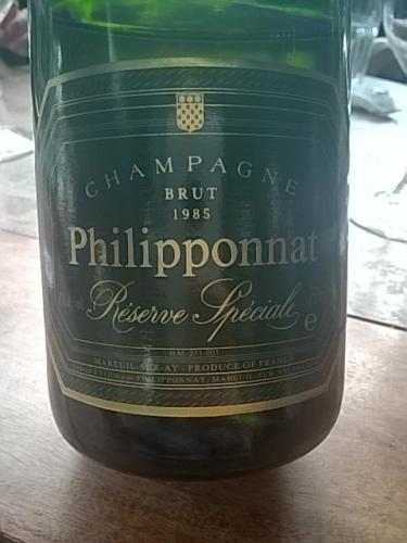 Philipponnat brut champagne r serve sp ciale 1985 wine info for 1985 salon champagne