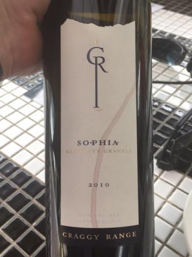 Craggy Range Gimblett Gravels Sophia 2010 Wine Info