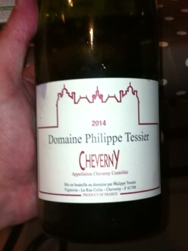 Philippe Tessier Cour-Cheverny 2014