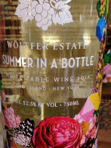 Wolffer Estate Summer In A Bottle White Table Wine Wine Info