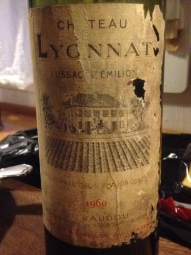 Ch teau lyonnat lussac saint milion 1960 wine info for Chateau lyonnat