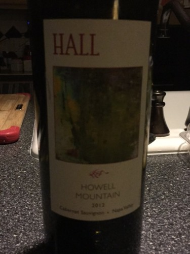 Hall Wines Howell Mountain Cabernet Sauvignon 2012 Wine Info