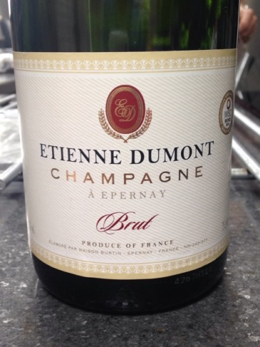 etienne dumont champagne brut 2014